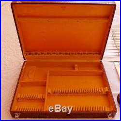 Menagere Complete Metal Argentee 49 Pieces Style Art Deco An 1950 + Ecrin