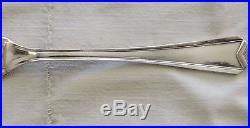 Menagere En Metal Argente Christofle Modele Art Deco Chevron 37 Pieces /1