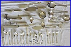 Menagere Metal Argente Modele Art Deco America Christofle 183 Pieces