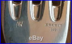 Ménagère Métal argenté ERCUIS 37 Pieces 100g TBE
