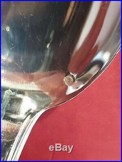 Ménagère Puiforcat 44 Pièces Pur Art Deco Minerve Argent Massif Sterling