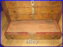 Ménagère art déco Empire 52 pièces métal argenté Ercuis dans son meuble
