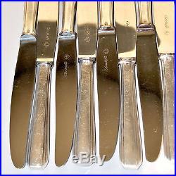 Ménagère de 60 couverts Métal argenté CHRISTOFLE Modèle Boréal 1930 Art Déco