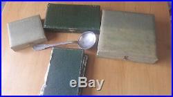 Ménagères boulenger 61 pièces ancienne métal argenté model coquille art deco