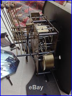 Pendule Mouvement De Carillon Odo 8 Tiges 8 Marteaux N° 24 Westminster Pendulum