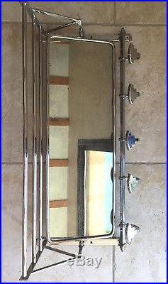Porte manteaux ancien, Patère 1930 type bistro, vestiaire avec miroir