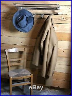 Porte manteaux / serviettes en chrome de style Art déco Longueur 72 cm