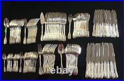 Puiforcat Belle Menagere Argent Massif Poincon Minerve 178 Pieces Frise Lauriers