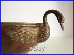 RARE seau à glace, seau à champagne en métal argenté, Art déco 1930