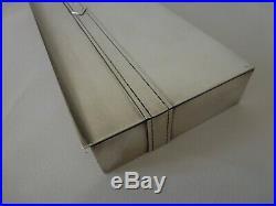 Rare Très Grande Boite Métal Argenté De Maria Pergay Box Design Modernist 60-70s