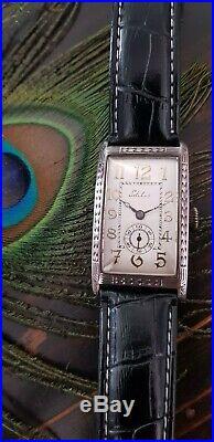 Rarissime montre Sotilis art deco XXL argent 0.830