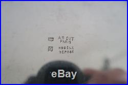 SEAU à CHAMPAGNE rafraîchissoir argenté Art Déco KRUG 1936 vintage ice bucket