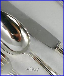 SFAM, belle ménagère de 97 pièces, métal argenté, Art Déco, excellent état