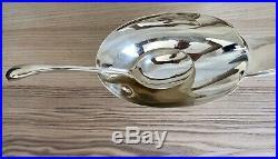 Saucière Cygne Gallia / Christofle par FJERDINGSTAD en métal argenté Art Déco