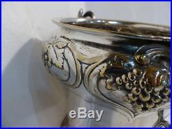 Seau Ancien Bucket Old 1900 WMF Champagne cooler Art Nouveau Deco Metal Argent