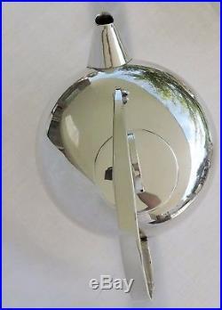 Service A The En Metal Argente Christofle Design Lino Sabattini 3 Pieces