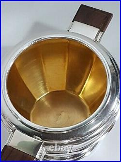 Service Apollo art déco thé café métal argenté Art deco silver plated service