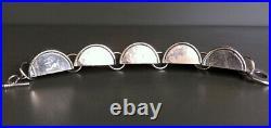 Sublime Bracelet Moderniste Dans Le Style Art Déco Vintage