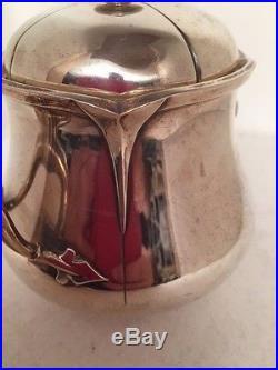 Sucrier Puiforcat Art Deco Argent Paris Minerve