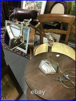 Superbe Lampe Pirouett pied art déco modèle peu courant réélectrifié époque 1920