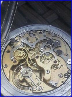 Superbe Montre Chronographe Art Deco Montre A Gousset Chronometre