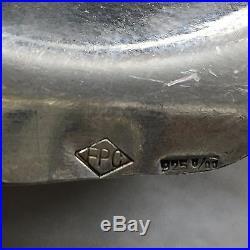 Théière Verseuse Argent Massif 925 Teapot Silver Sterling Fpc